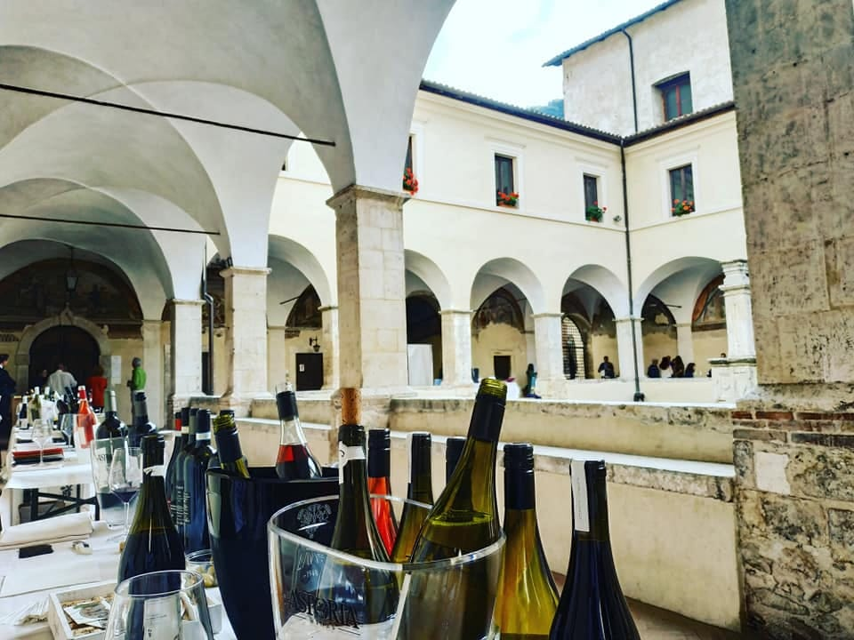 """Successo per la prima edizione del """"Wine & Art festival"""" a Tagliacozzo"""