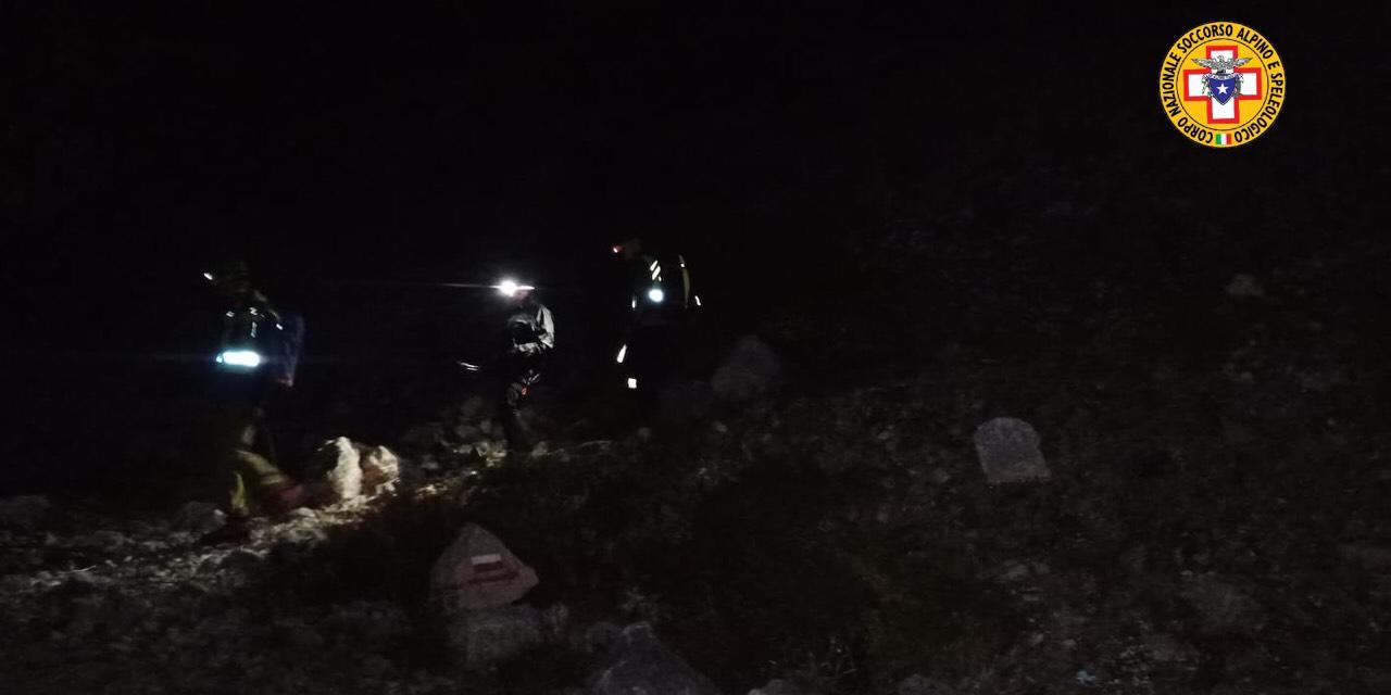 Recuperati nella notte due escursionisti in difficoltà sulla Majella