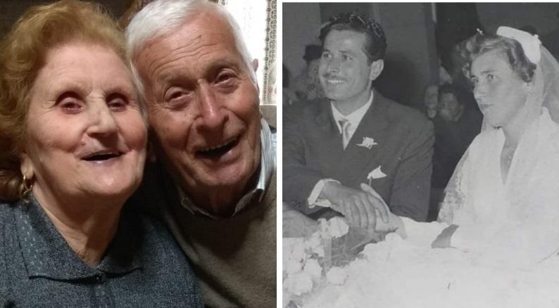 Nozze di 'pietra' a Balsorano, Pietro e Maria festeggiano 65 anni di matrimonio