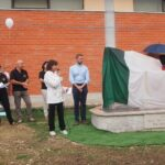 Antrosano, svelato il monumento in ricordo delle Vittime dei terremoti dell'artista marsicano Italo Ranalletta