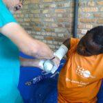 """Il dottore marsicano Pietro Petricca """"Installato nell'Ospedale di Bubanza un laboratorio per la dotazione di protesi"""""""