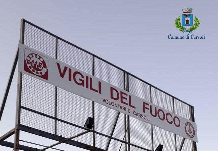 Sarà operativo da venerdì il primo distaccamento interregionale di Volontari di Vigili del Fuoco a Carsoli