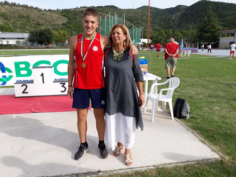 Il giovane atleta Mirco De Paolis conquista l'Abruzzo