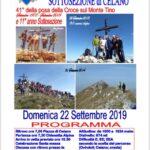 Vertical Serra di Celano: ultimo giorno per la preiscrizione
