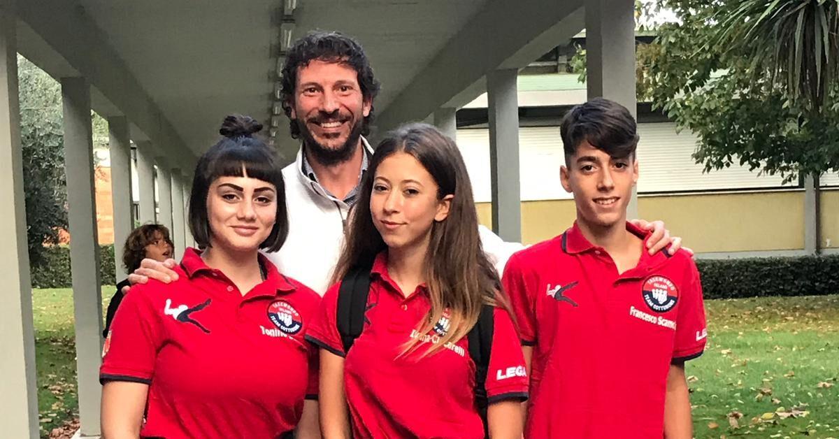 Tre atleti del Centro Taekwondo Celano in Nazionale per gli Europei