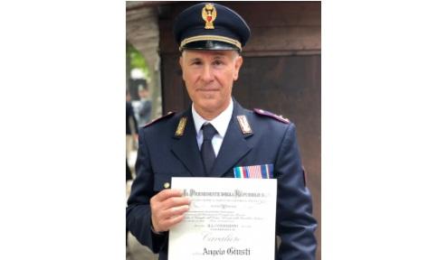 Angelo Giusti è il nuovo comodante della Polizia Stradale di Avezzano