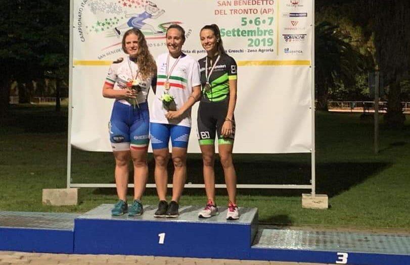 Medaglia di bronzo ai campionati italiani per la pattinatrice marsicana Edda Paluzzi