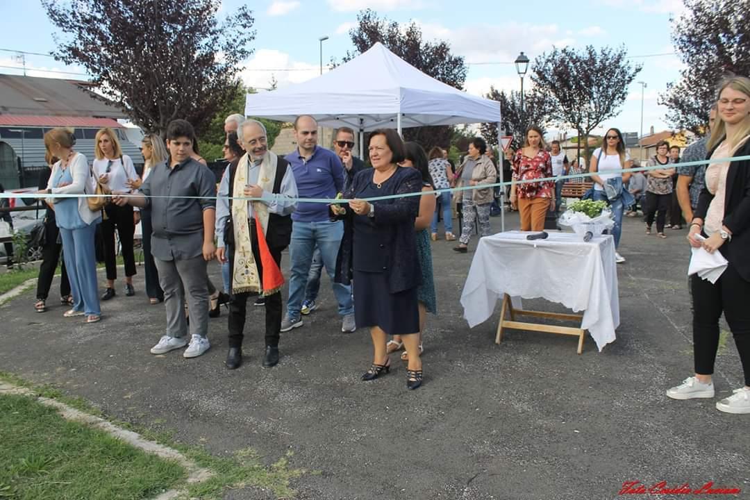 Inaugurato a Trasacco un parco per ricordare Roberta Salvi, giovane ragazza venuta a mancare troppo presto
