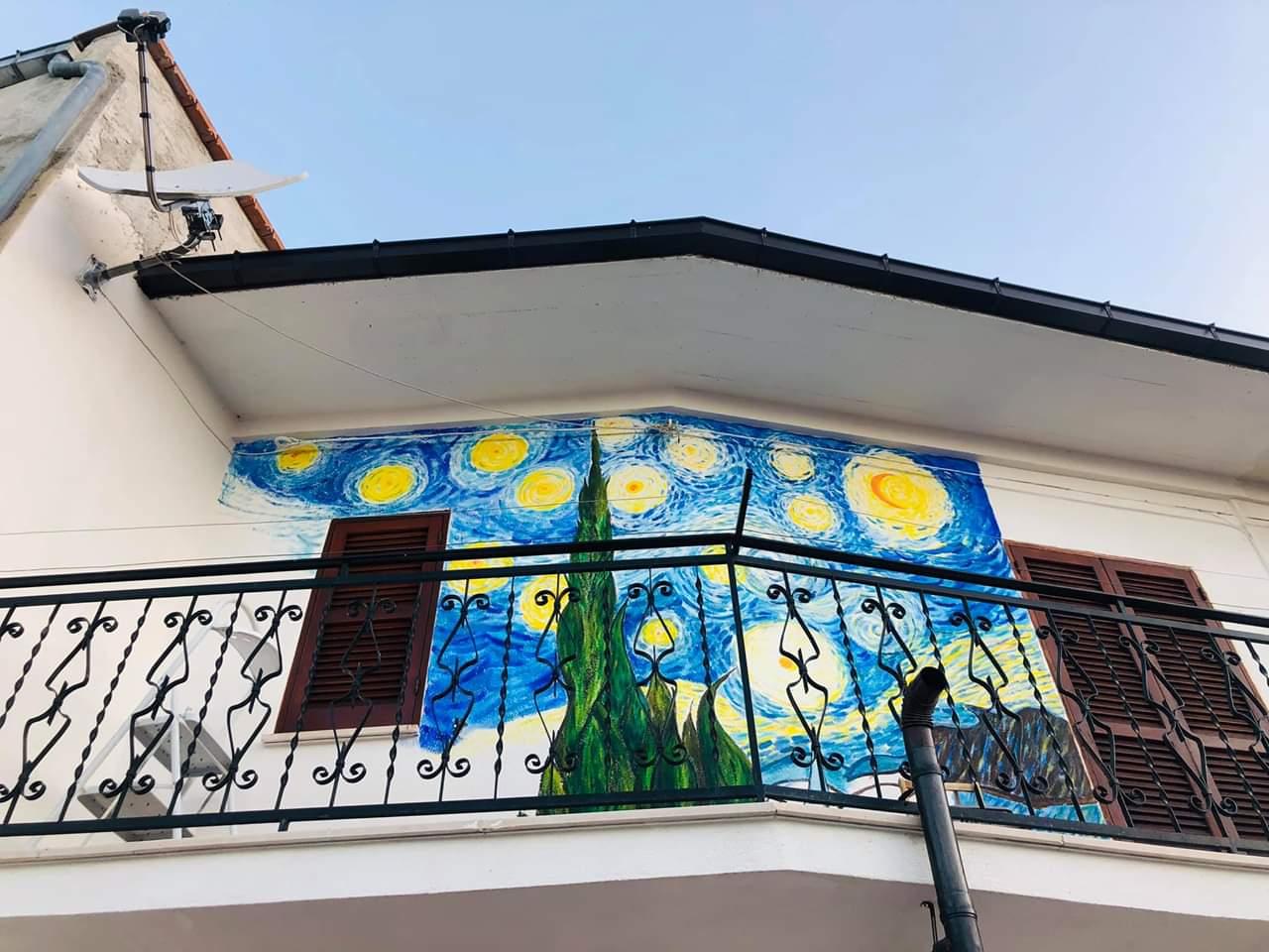 "Ad Aielli scoppia la ""febbre"" per la street art"