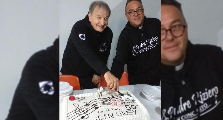 Festeggiamenti per Don Giosy e il suo 50 anni di sacerdozio
