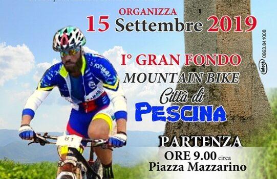 A Pescina il 1° Gran Fondo Mountain Bike Città Di Pescina