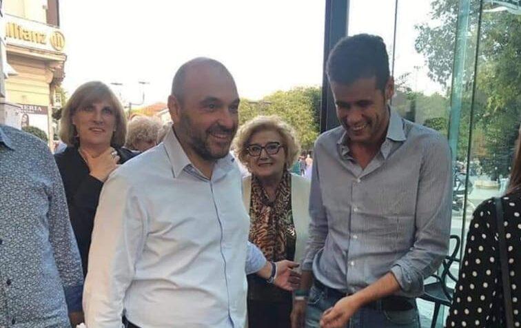 L'on Andrea Crippa, Vice Segretario Federare Lega, in visita ad Avezzano per incontrare sostenitori e militanti