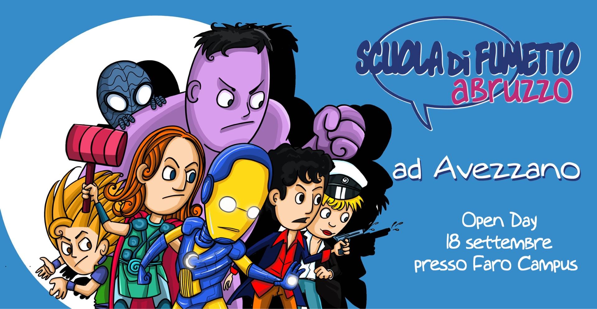 Scuola di fumetto: Open day ad Avezzano