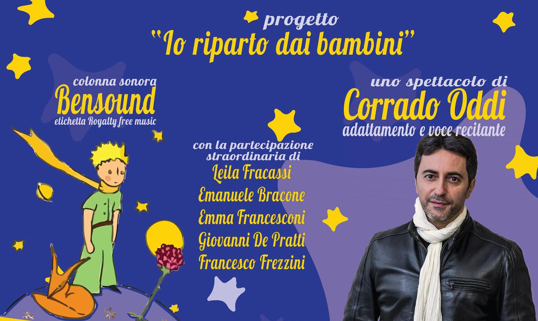 """Corrado Oddi chiude il cartellone di """"Avezzano Eventi Estate 2019"""" conIl Piccolo Principe, video racconto"""