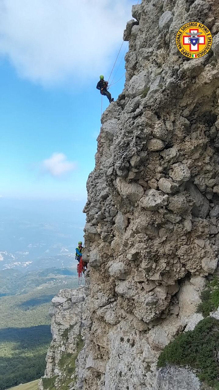 Prosegue l'attività di formazione continua dei tecnici del Corpo Nazionale Soccorso Alpino e Speleologico Abruzzo