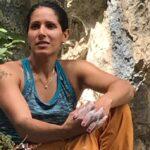 La climber iraniana Nasim Eshqi scala la falesia di Pietra Pizzuta e diventa ambasciatrice nel mondo del Comune di Sante Marie