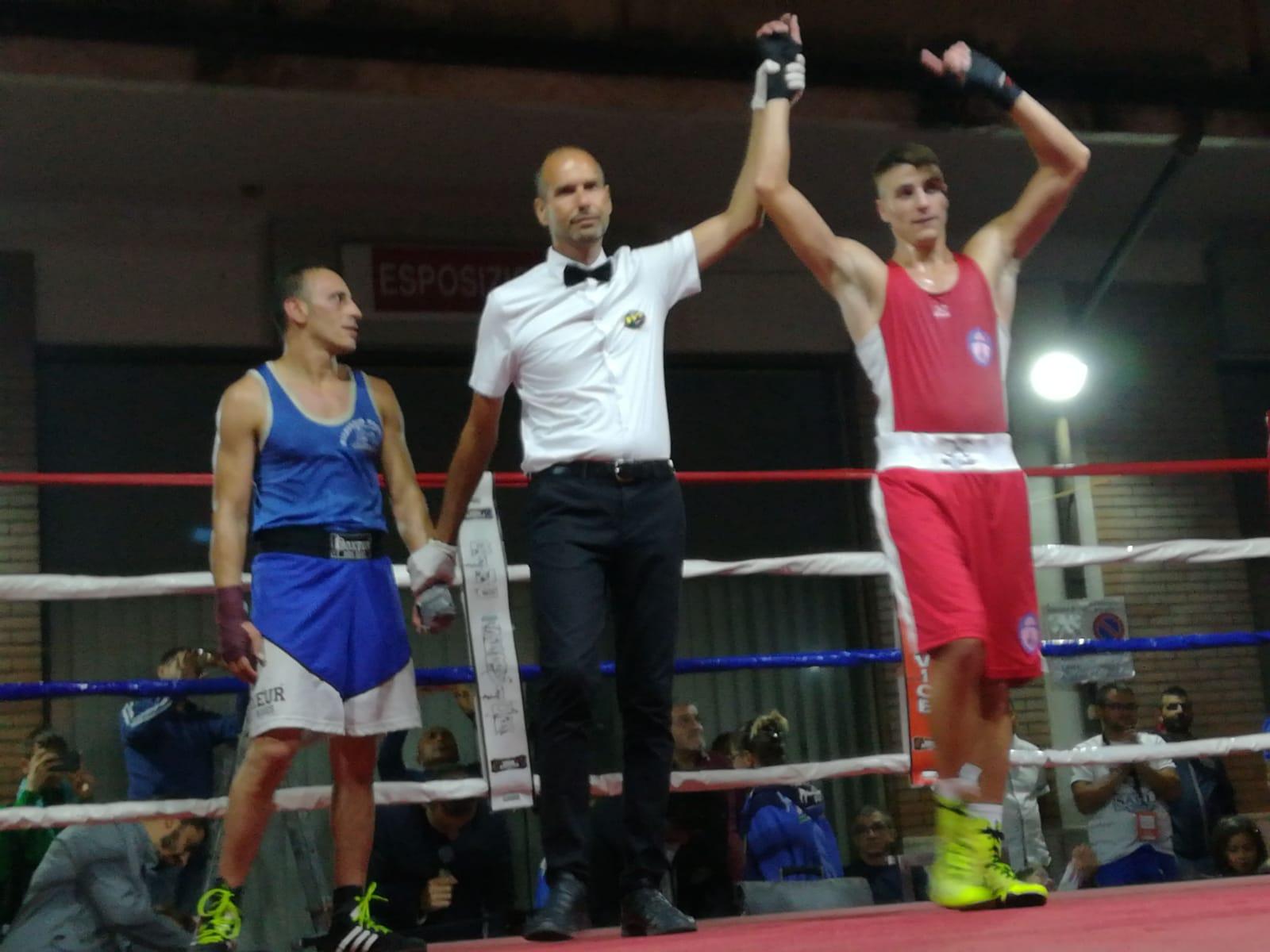 Grande Boxe nella Marsica, Amedeo Sauli vince al debutto con il gruppo sportivo Fiamme Azzurre