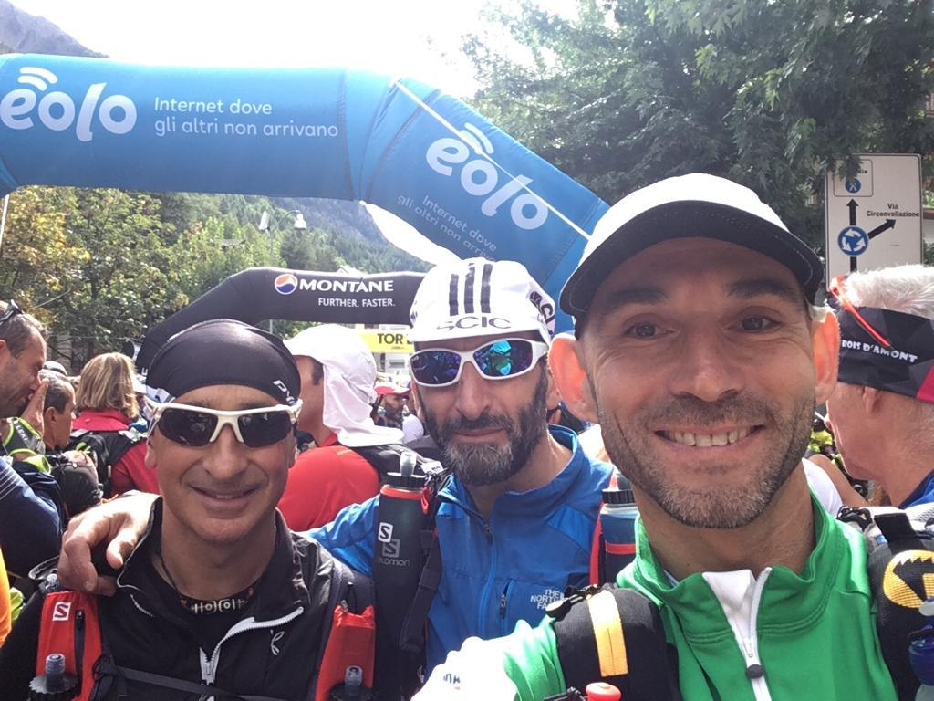 Tor des Géants® 10° anniversario, un viaggio di 330 km per tre atleti marsicani