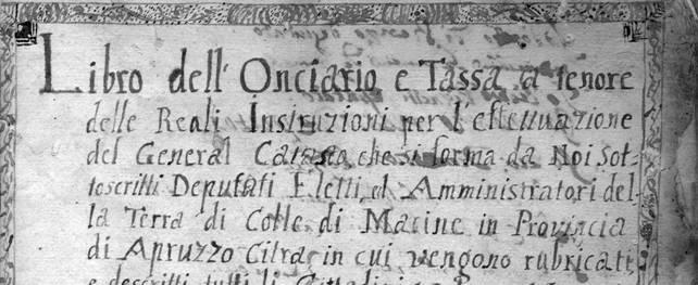 Pagine dei catasti antichi marsicani artisticamente lavorati in mostra a Palazzo Torlonia