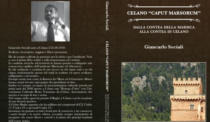 Celano Caput Marsorum. Il nuovo libro di Giancarlo Sociali