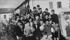 Don Domenico Nucci. Una fotografia d'epoca e tanti bei ricordi