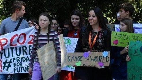 L'avezzanese Federica Gasbarro parteciperà al vertice Onu dei giovani sul clima, siederà vicino a Greta Thunberg