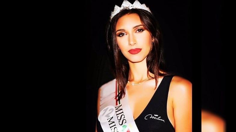 Christine Fegatilli di Avezzano, a Miss Italia 2019 su Rai Uno