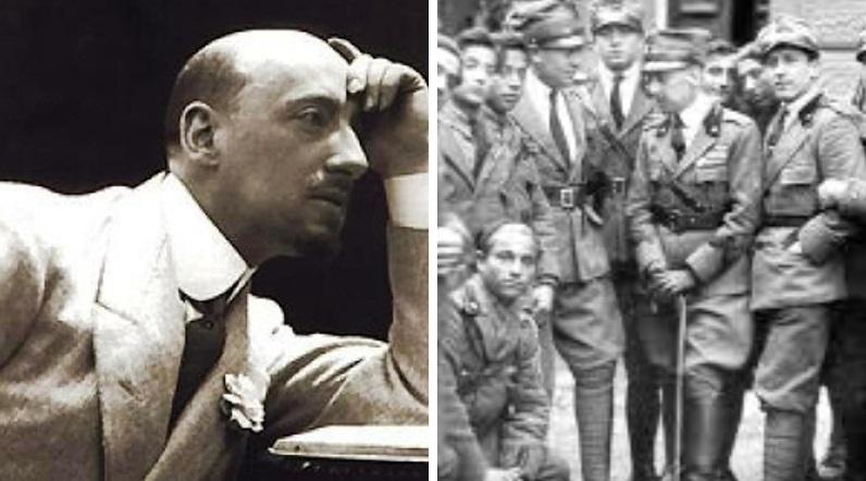 Gabriele D'Annunzio, il poeta soldato e i suoi pastori a 100 anni dall'impresa di Fiume