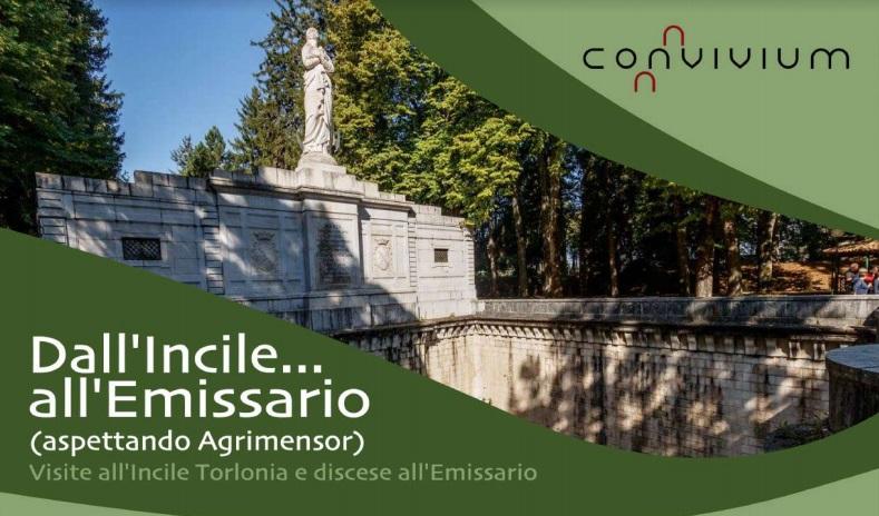 Dall'incile...all'emissario (aspettando Agrimensor) visite all'Incile Torlonia e discese all'Emissario