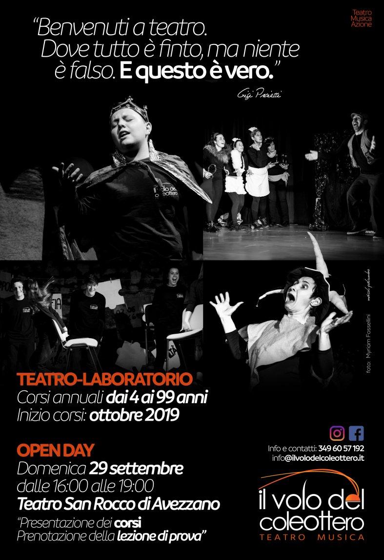 Laboratori teatrali - decimo anno di attività