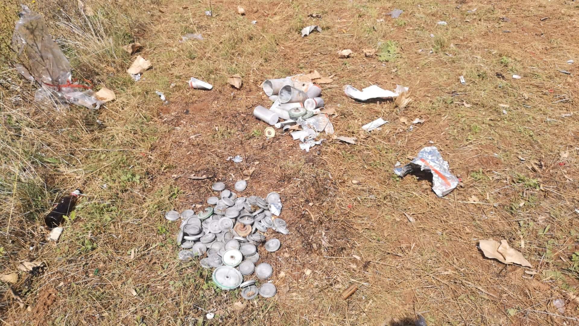 Abbandonati a Trasacco i resti dei fuochi d'artificio, rabbia e paura tra i residenti