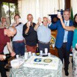 Grande festa tra amici e lotteria di beneficenza per i 60 anni del Rotary Club di Avezzano