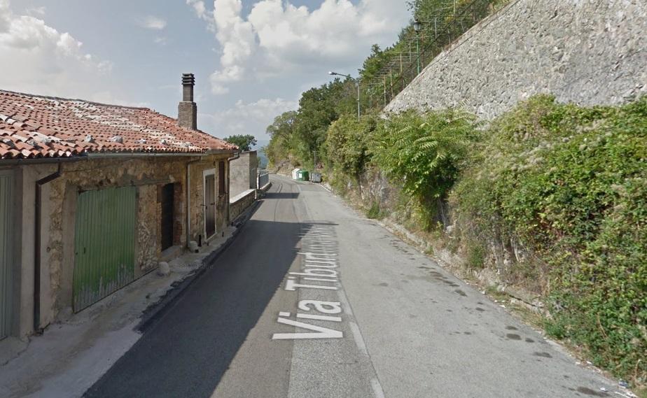 """Stanziati 120.000 euro sulla frana della S.R. 5 """"Tiburtina Valeria"""" all'altezza di Colli di Montebove, frazione di Carsoli"""