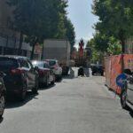 Avezzano, disagi in via G.Garibaldi, rallentamenti del traffico e lunghissima coda di veicoli