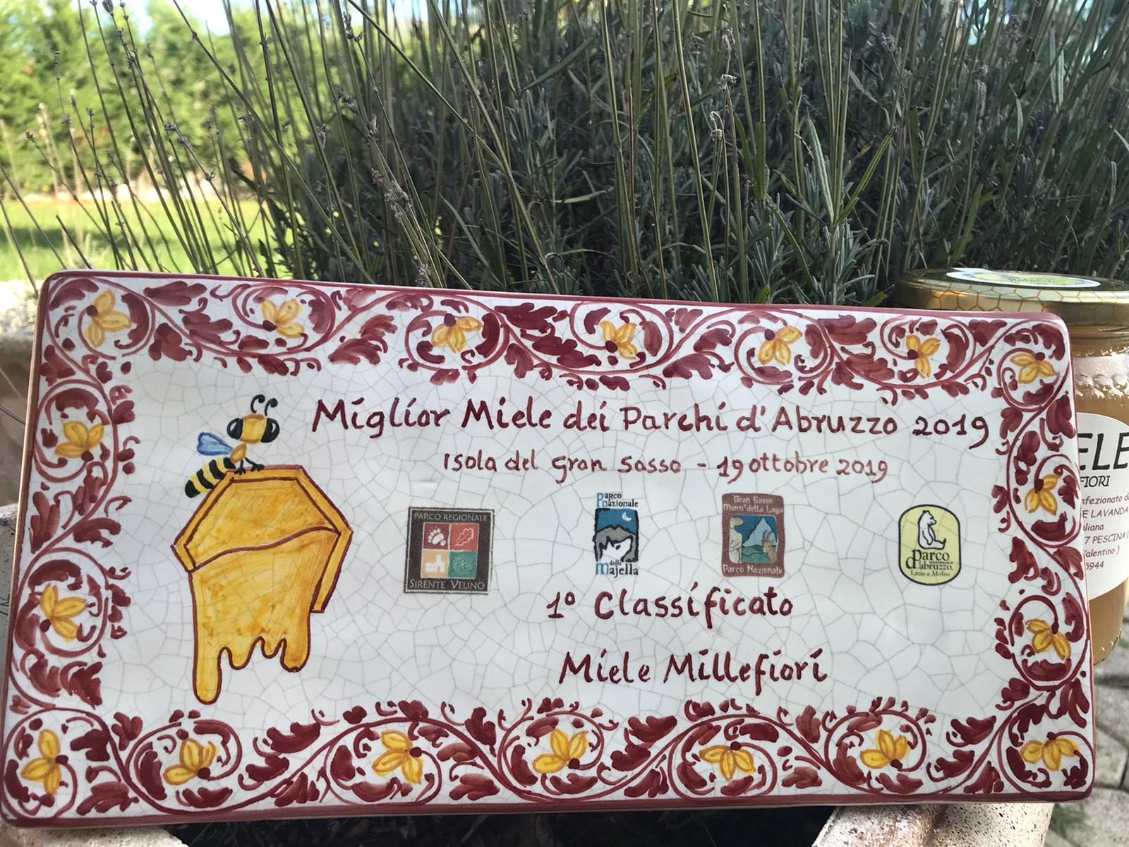 """Il """"Millefiori"""" dell'Apicoltura """"Dolce Lavanda"""" è il miglior miele dei Parchi d'Abruzzo"""