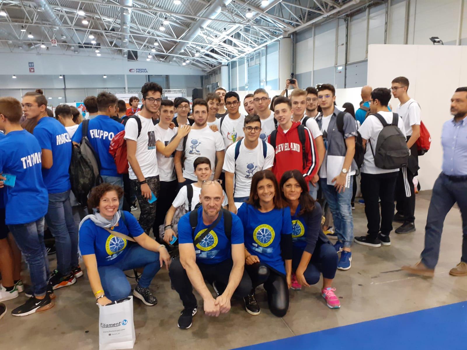 Importante risultato degli alunni dell'Ist. E. Majorana al Maker Faire di Roma