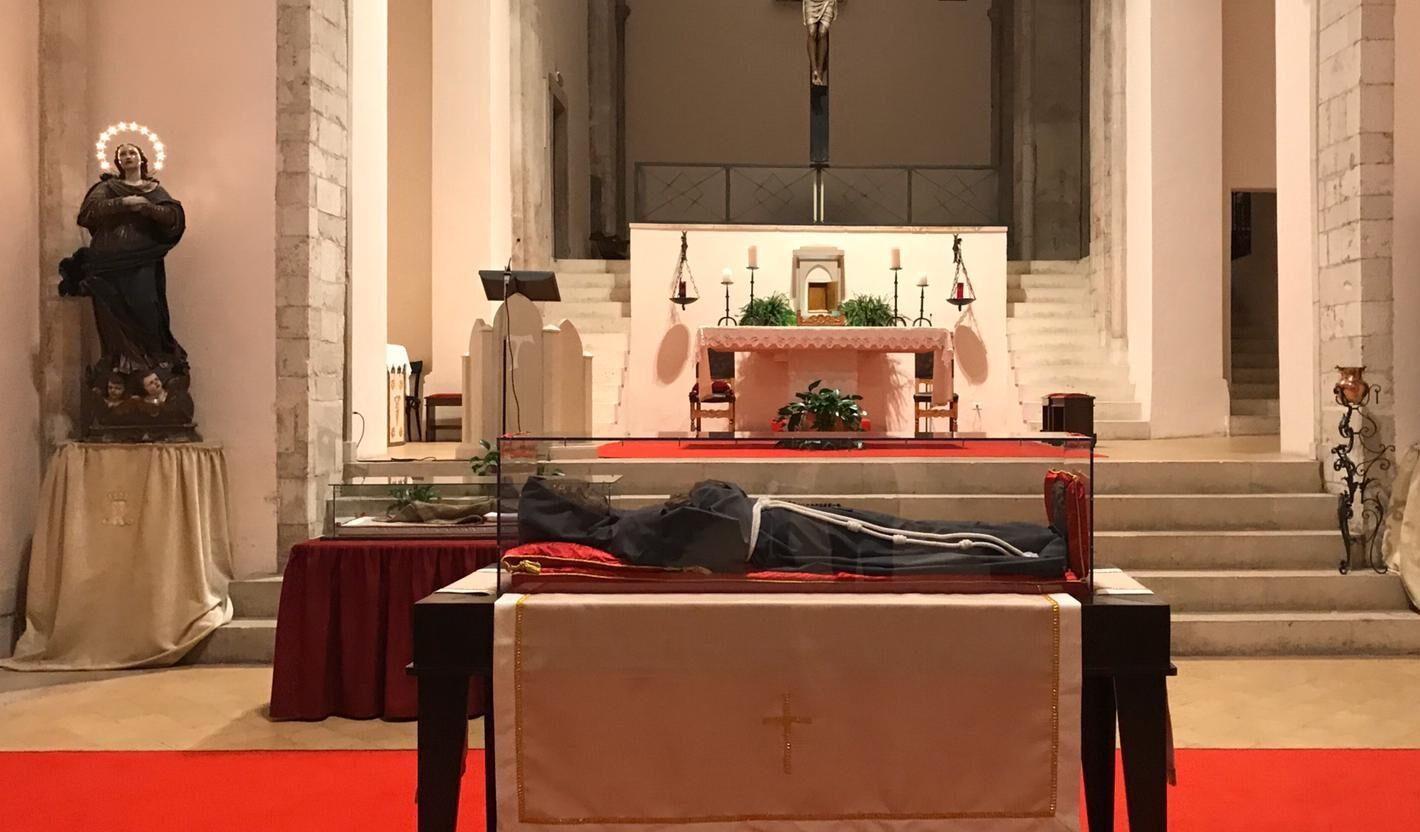 Le spoglie mortali del Beato Tommaso tornano a Celano