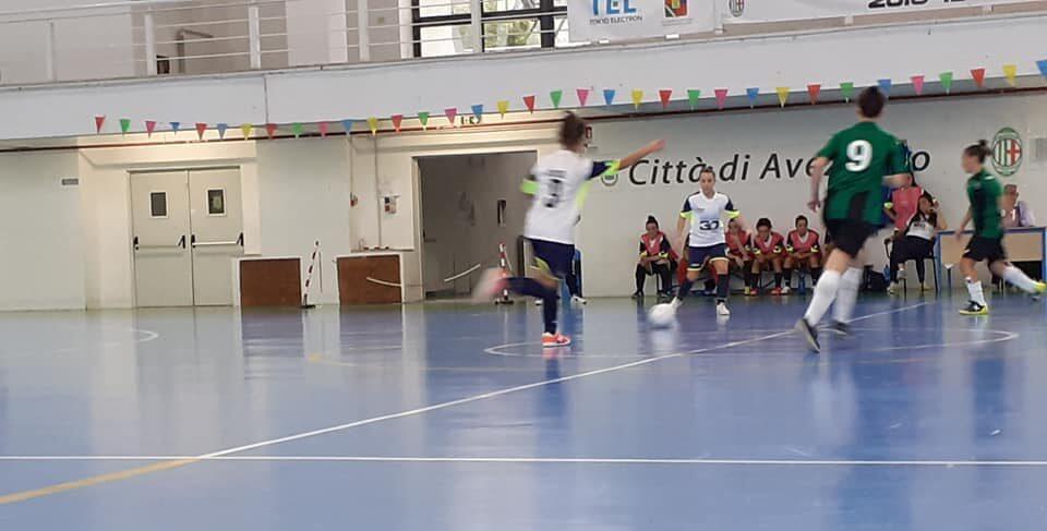 La tripletta di Valeria Russo trascina l'Orione Avezzano C5 femminile in Coppa Italia
