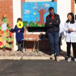Alla Scuola Materna a Venere dei Marsi festa degli alberi tra i bambini dell'infanzia e gli alunni delle classi 3^A e 3^B dell'Istituto Comprensivo Fontamara