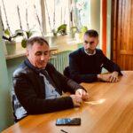 """Il Presidente della provincia Angelo caruso visita L'ITET """"A. Argoli"""" di Tagliacozzo"""