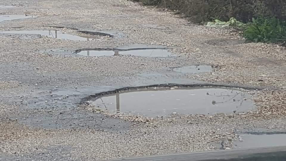 San Benedetto, gli acquazzoni mettono in luce i problemi della pavimentazione stradale di via Perugia