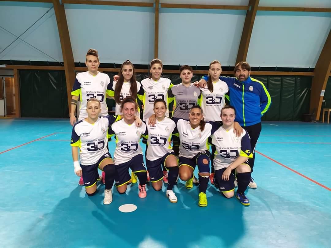 Calcio a 5 femminile, ancora una vittoria fondamentale per l'Orione