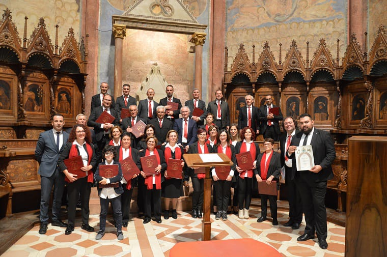 Emozionante esibizione della Corale di Civitella Roveto nella Basilica Superiore di San Francesco d'Assisi