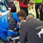 Uomo e cane, un binomio efficace per il soccorso con GPS