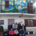 Il Gruppo di Artisti Marsarte in visita ad Aielli