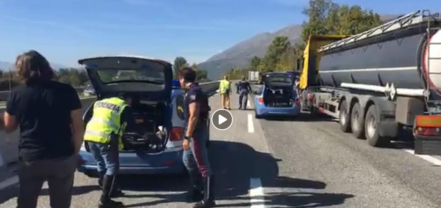 Incidente mortale tra Celano ed Avezzano (Video)