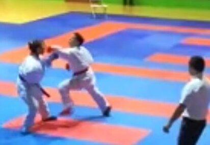 Miglior piazzamento abruzzese per l'atleta Michela Paris karateka avezzanese al Campionato Italiano Under 21