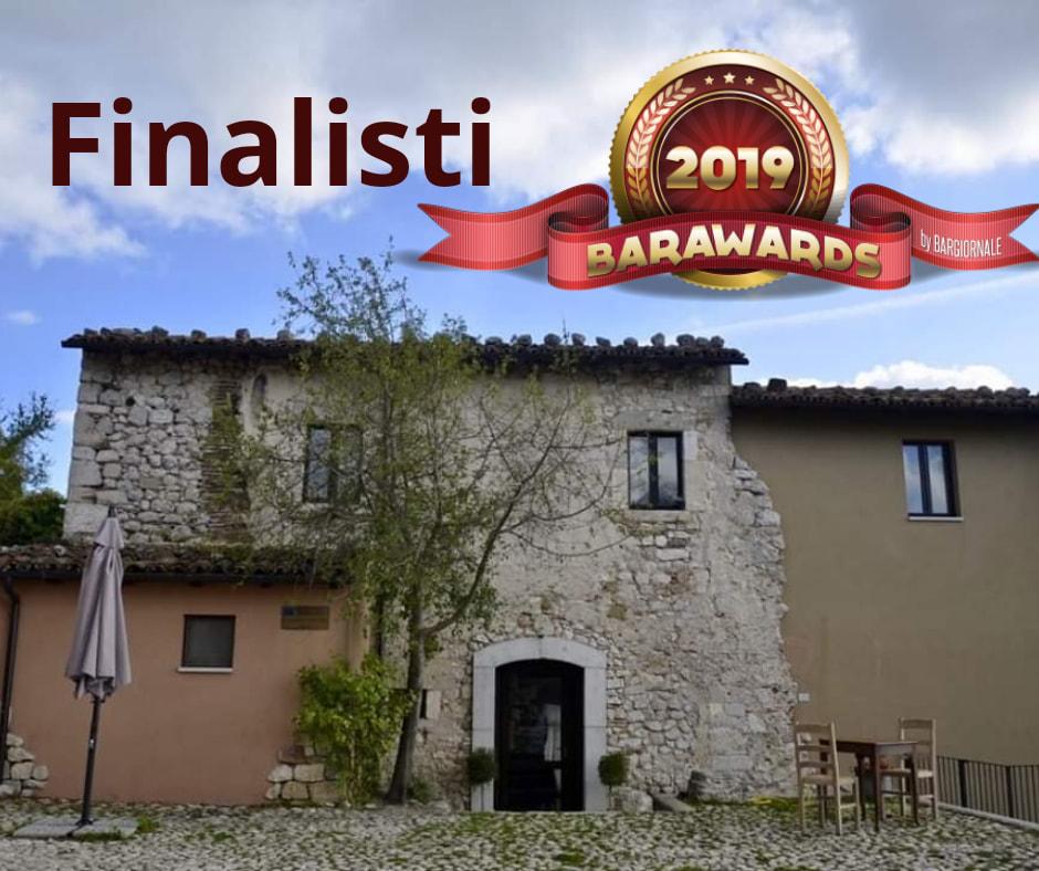 """""""L'alchimista del Borgo Medievale"""" di Alba Fucens tra i 30 finalisti del Premio Nazionale BarAwards 2019"""