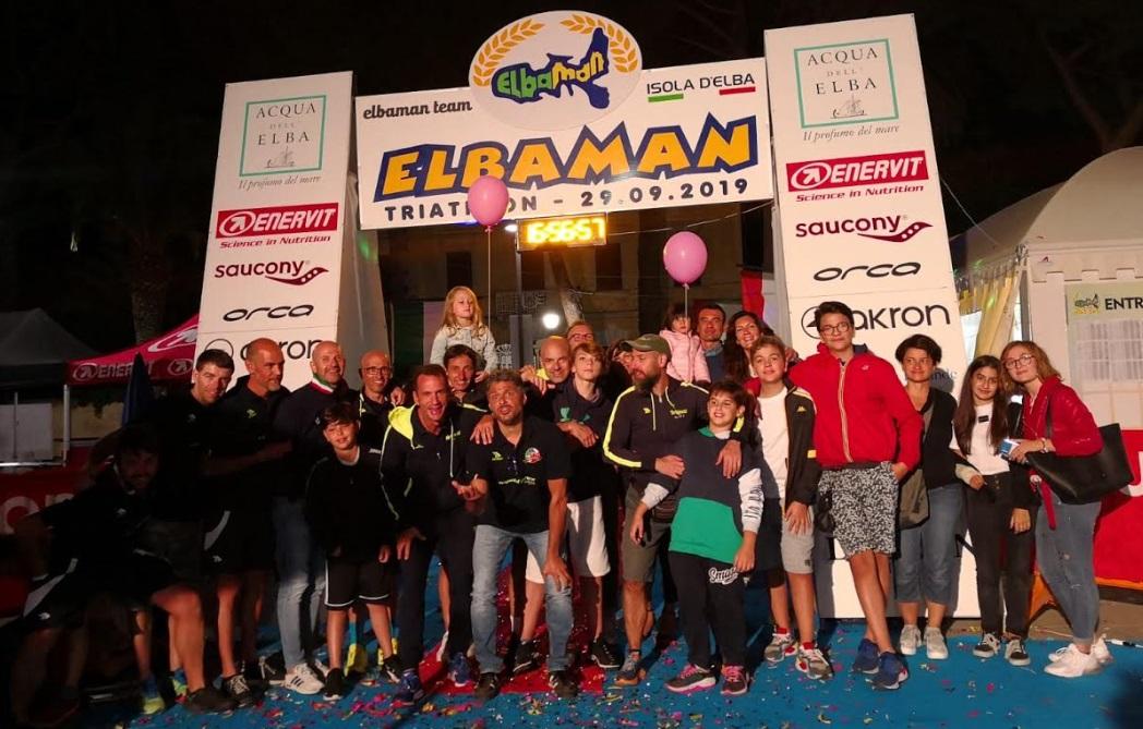 """I marsicani di """"Briganti d'Abruzzo Triathlon"""" concludono con successo la competizione Elbaman"""