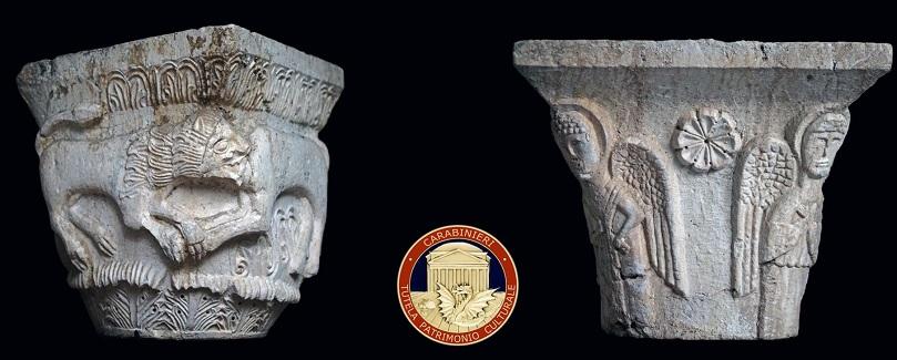 Il ritorno dei capitelli trafugati in mostra al l Museo Archeologico Cicolano